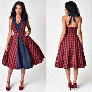 Janie Bryant Unique Vintage Margaret Swing Dress